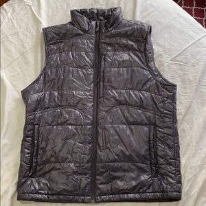 The North Face men's goose down puffer vest